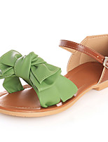 Women's Shoes Cone Heel Comfort / Open Toe Sandals Dress / Casual Blue / Green / White