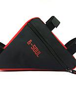 Bolsa para Quadro de Bicicleta / Bolsas de cicloÁ Prova-de-Água / Á Prova-de-Chuva / Zíper á Prova-de-Água / Lista Reflectora /
