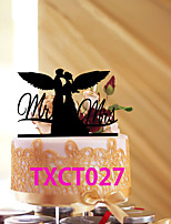 Cake Toppers With  kissing Love Angels  3 Colors