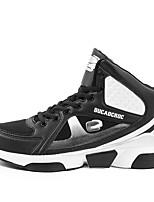 Scarpe da uomo-Sneakers alla moda / Scarpe da ginnastica-Tempo libero / Sportivo / Casual-Tulle / Microfibra-Nero / Giallo / Rosso