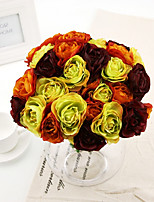 Silk Roses Artificial Flowers Wedding Flowers 1pc/set