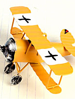modèle biplan rétro articles-aléatoire d'ameublement décoratifs couleur