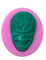 Hulk Shaped Silicone Fondant Cake Cake Chocolate Silicone Molds,Decoration Tools Bakeware