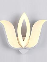 acryl LED wall licht modern waterlelie bedlampje gang lichten ac86-265v