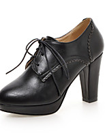 Women's Shoes Chunky Heel Platform / Pointed Toe Pump Outdoor / Office & Career / Dress / Casual