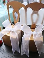Boîtes à cadeaux(Or,Papier durci)Thème asiatique / Thème classique / Thème de conte de fées- pourMariage / Commémoration
