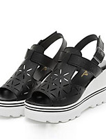 Women's Shoes  Platform Creepers Sandals Outdoor / Casual Black / Beige
