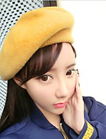 Women Wool Spring Woolen Beret Painter Cap Princess Sketch hat