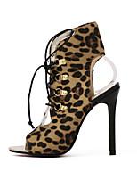 Chaussures Femme-Mariage / Bureau & Travail / Habillé / Décontracté / Soirée & Evénement-Jaune-Talon Plat-Talons / A Plateau / Confort /