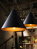 Retro Restaurant Lights Simple Creative Industries Single Head Iron Pendant Light Bar Restaurant Lamp