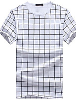 DMI™ Men's Round Neck Check Casual T-Shirt(More Colors)