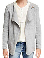 Girl's Gray Sweater & Cardigan Cotton Spring / Fall