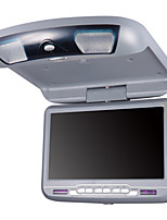 9 Inches Car Flip Down DVD Player in Grey