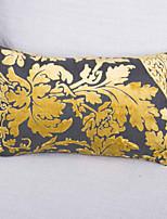 Chenille Jacquard Cushion Cover-Yellow