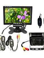 Rear View Camera-Sensor CCD de 1/4 Polegadas-170°-480 Linhas TV