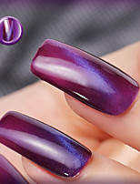 Ekbas Cat Eye Purple Matte Nail Glue 16ML Nail Polish
