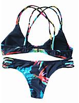 Bikini-Nuoto / Spiaggia-Per donna-Asciugatura rapida-Nero