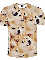 3D Pattern Male As Picture Cosplay Tsundere dog Cosplay Costumes T-shirt