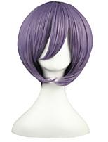 Suzumiya Haruhi no Yuuutu -Nagato Yuki Violet Anime Cosplay 13inch Wig CS-001D