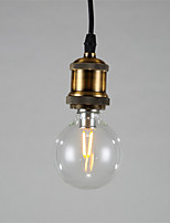 1 Heads Industrial Vintage Mini Style Copper Pendant Lights Kitchen,Bars,Loft, Entry light Fixture