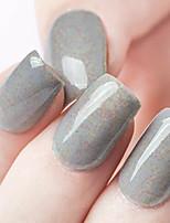 ekbas milieuvriendelijk tandvlees suiker grijze 16ml glitters nagellak