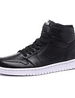 NikeAir Jordan 1 Monday AJ1 Men's Shoes Leather Fashion Sneakers Black