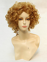 Hot Style Kinky Synthetic Top Quality Blonde Color Wigs Hair