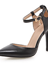 Women's Shoes Stiletto Heel/D'Orsay & Two-Piece/Pointed Toe Heels Party & Evening/DressBlack/Pink/White
