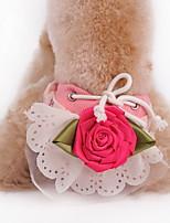 Cani Pantalone / Abiti / Abbigliamento Verde / Rosa / Giallo Estate Floral / botanico Vacanze / Di tendenza-Lovoyager