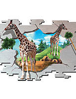 3D Wall Stickers Wall Decals Style Giraffe PVC Wall Stickers