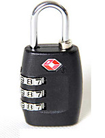 Luggage LockForLuggage Accessory Plastic / Alloy Black 6*3