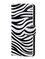 Zebra Pattern Magnetic PU Leather wallet Flip Stand Case cover for Asus Zenfone Max ZC550KL