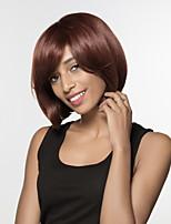 smart coiffures bob main attachée haut cheveux remy capless perruques noires