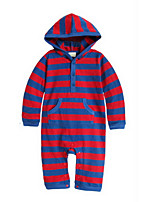 Girl's Blue / Red Overall & Jumpsuit Cotton Winter