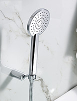 Bathroom Round ABS Hand Shower Set with Shower Hose and Shower Holder