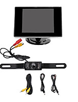 Car Rear View  Camera with Night Vision + 3.5