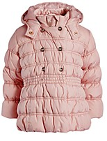 Girl's Pink Jacket & Coat,Dresswear Polyester Winter