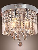 MAX:60W Tradicional/Clássico Cristal Cromado Metal Montagem do FluxoSala de Estar / Sala de Jantar / Quarto de Estudo/Escritório /