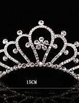 Dame Rhinsten / Krystal Medaljon Bryllup / Speciel Lejlighed Diademer / Hårkamme Bryllup / Speciel Lejlighed 1 Stykke