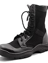 Men's Shoes Outdoor / Office & Career / Work & Duty / Party & Evening / Athletic / Casual Suede Boots Black