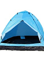 COLODA®Waterproof / Breathability / Ultraviolet Resistant / KEEP WARM PU Leather Two Rooms Tent Blue