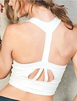 Women's Short Vest Elasticity / Soft Yoga / Pilates / Fitness / Running Bra