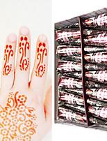 India golecha Hanna Natural Tribal Temporary Paints Tattoo Cream 30g (Single Purchase)