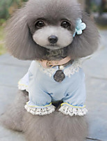 Sweety Bowknot Pet Lace Dress