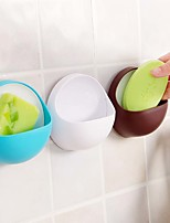 Toothbrush Holder Bathroom Kitchen Family Toothbrush Suction Cups Holder Wall Stand Hook Cups Organizer(Random color)