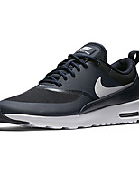 Nike Air Max Thea Textile Men's Running Shoes Black Trainers Sneakers Shoes White Orange