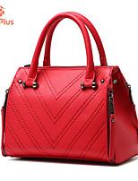 M.Plus® Women's Fashion Plaid PU Leather Messenger Shoulder Bag/Tote