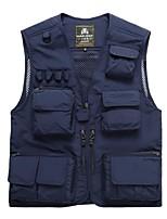 Men's Sleeveless Tank Tops,Nylon Casual / Work / Formal / Sport / Plus Sizes Solid