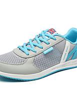 Scarpe Donna-Sneakers alla moda / Scarpe da ginnastica-Tempo libero / Casual / Sportivo-Comoda / Chiusa-Zeppa-Tulle-Blu / Verde / Rosa