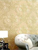 Damas Papier peint Contemporain Revêtement,Intissé Modern Damask Wallpaper